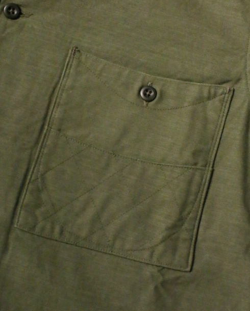 LOST CONTROL / SQUARE POCKET BS SHIRTS (OLIVE) - ウインドウを閉じる