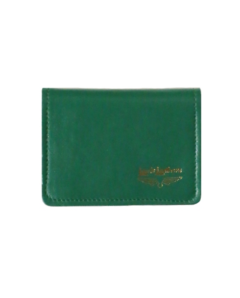 Lewis Leathers / CARD CASE (GREEN)