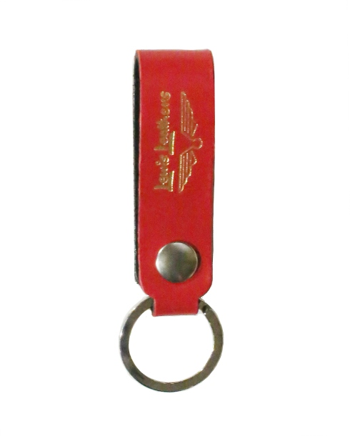 Lewis Leathers / KEY RING -TYPE1 (RED)