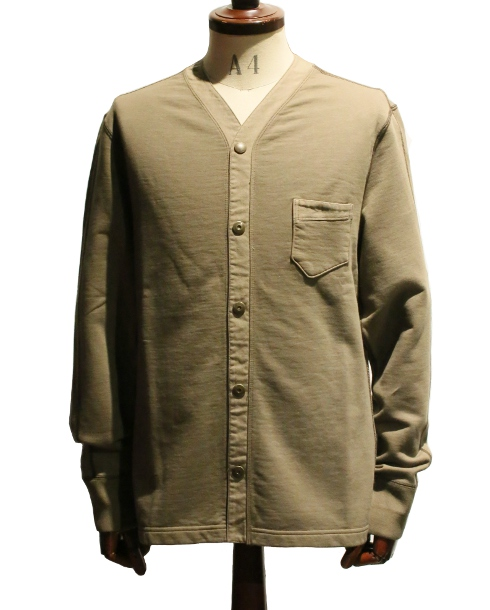 LOST CONTROL / FULL OPEN SWEAT SHIRTS (OLIVE)