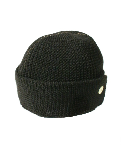THE H.W. DOG & CO. / W10S KNITCAP (BK)