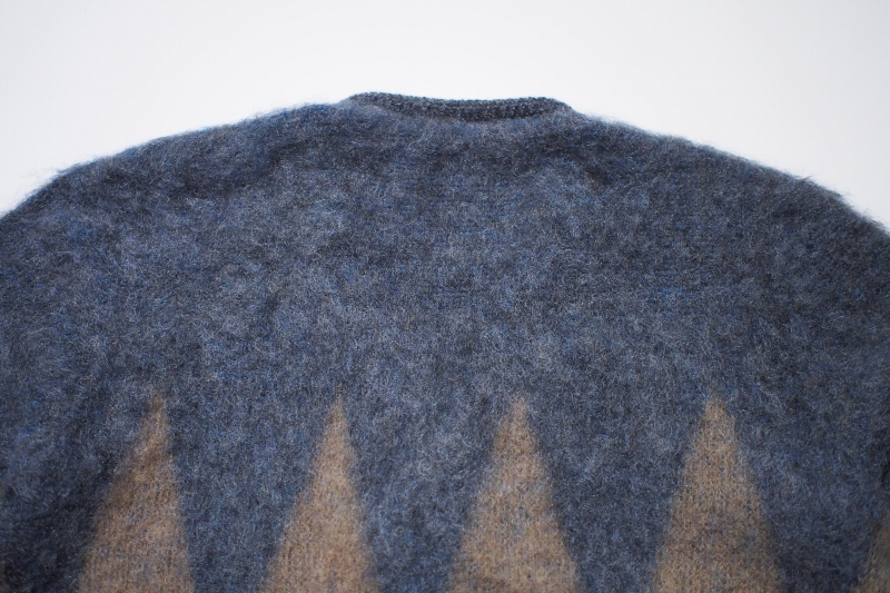 LOST CONTROL / MOHAIR CARDIGAN (GRAY BASE)