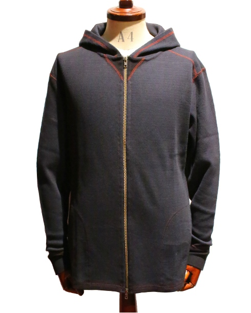 LOST CONTROL / HOODED ZIP THERMAL (BK)
