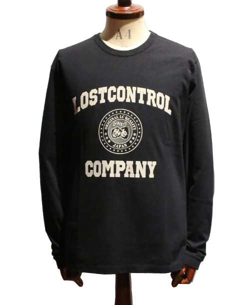 LOST CONTROL / GRAPHIC LS TEE - LC COMPANY (BK)