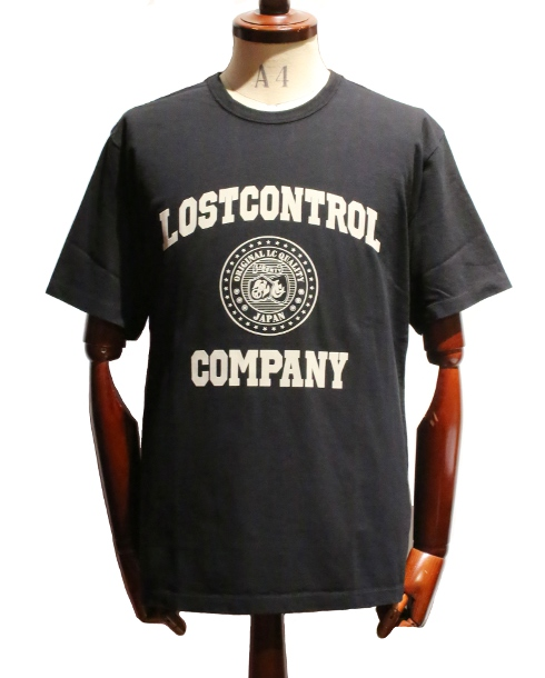 LOST CONTROL / GRAPHIC TEE - LC COMPANY (BK)
