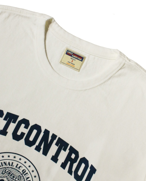 LOST CONTROL / GRAPHIC TEE - LC COMPANY (WH)