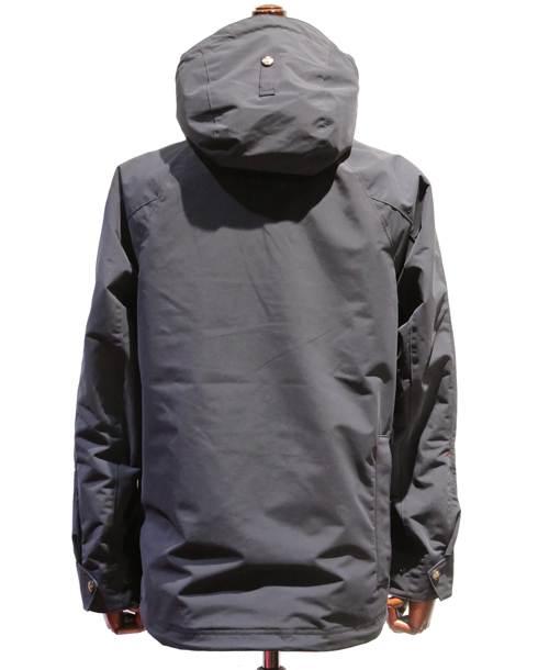 LOST CONTROL/ Motor Cycle Parka (SOLID BK)