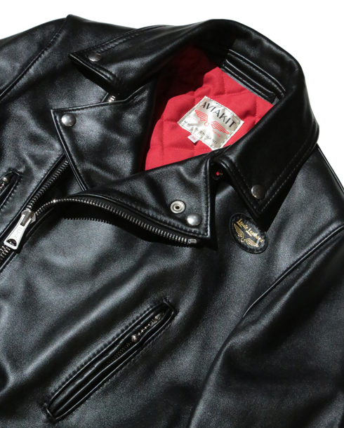 Lewis Leathers / 391T LIGHTNING (Tight Fit) COW HIDE (BK)