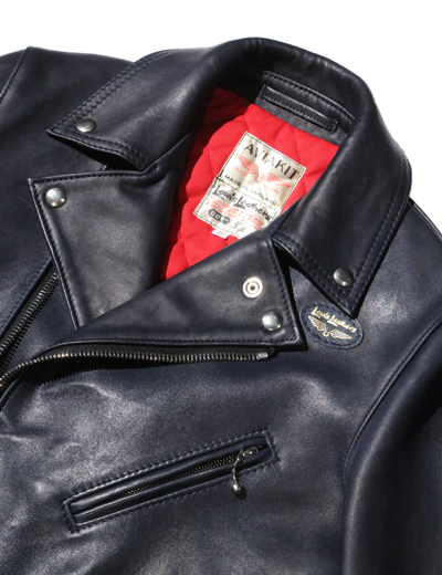 Lewis Leathers / 441T CYCLONE (Tight Fit) SHEEP SKIN (NAVY) - ウインドウを閉じる