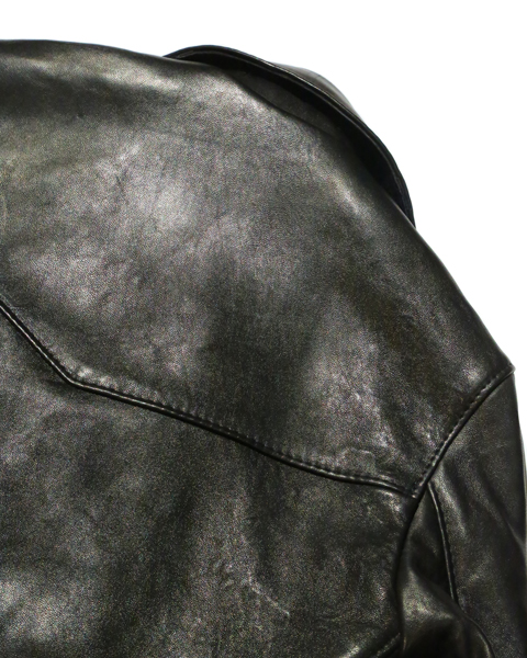 Lewis Leathers / #402T / TIGHT FIT 402LIGHTNING SHEEP SKIN (BK)