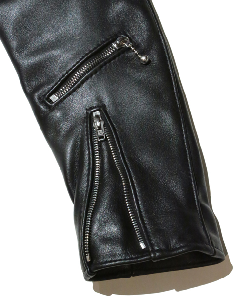 Lewis Leathers /#391T / TIGHT FIT 391LIGHTNING COW HIDE (BK)