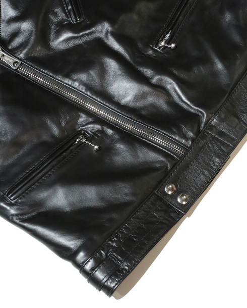 Lewis Leathers / #441T / TIGHT FIT CYCLONE HORSE HIDE (BK)