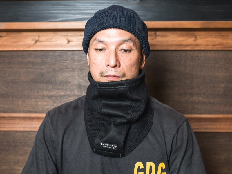 GERUGA / NECK WARMER (BK)