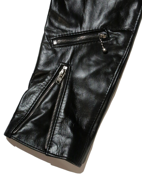 Lewis Leathers / #391T /TIGHT FIT 391LIGHTNING HORSE HIDE (BK)