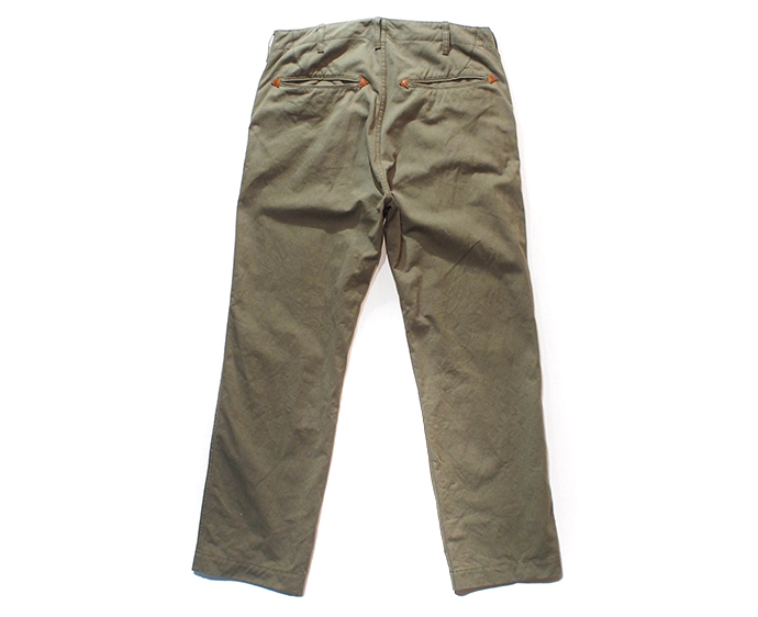 LOST CONTROL /6P WIDE PANTS (OLIVE DRAB)