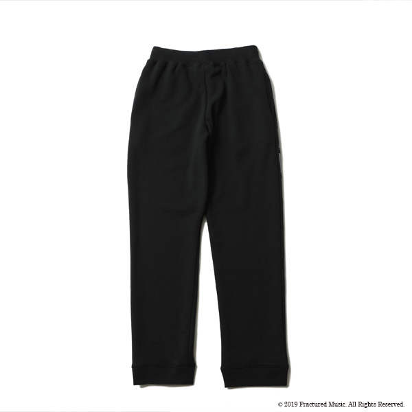 RG / UNKNOWN PLEASURE SWEAT PANTS BY STUDIO RUDE (BK)