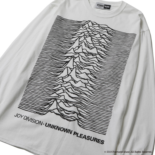 RG / UNKNOWN PLEASURE L/S TEE BY STUDIO RUDE (WH)
