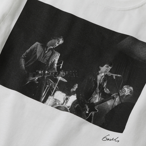 RG / MAKE HISTORY by GODLIS BIG SILHOUETTE TEE-JOHNNY - ウインドウを閉じる