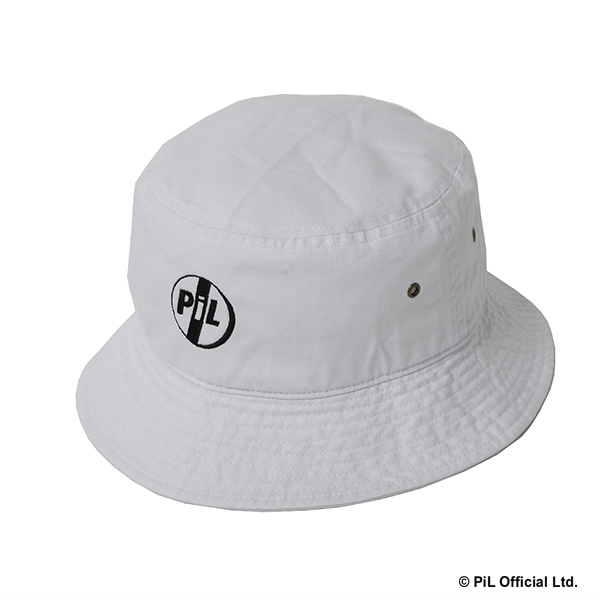 SR / LOGO BUCKET HAT (WH)