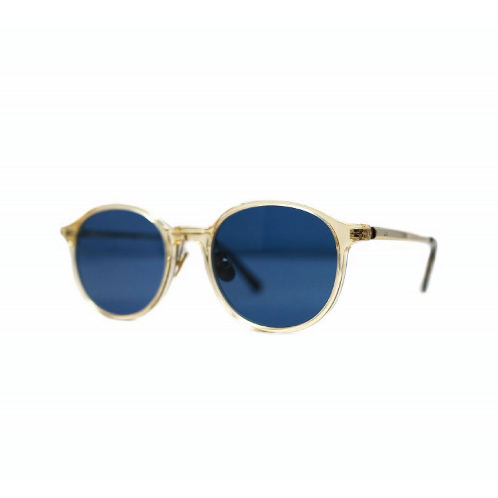 Mr. CASANOVA / BILL (CLEAR YELLOW×GOLD / BLUE SMOKE LENS)