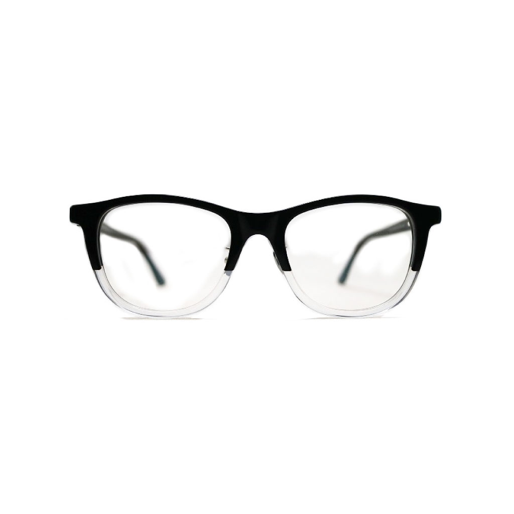 Mr. CASANOVA / BUZZ (Black To Clear / Clear Lens)