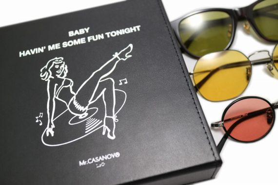 Mr. CASANOVA / 7 inch E.P COLLECTION CASE
