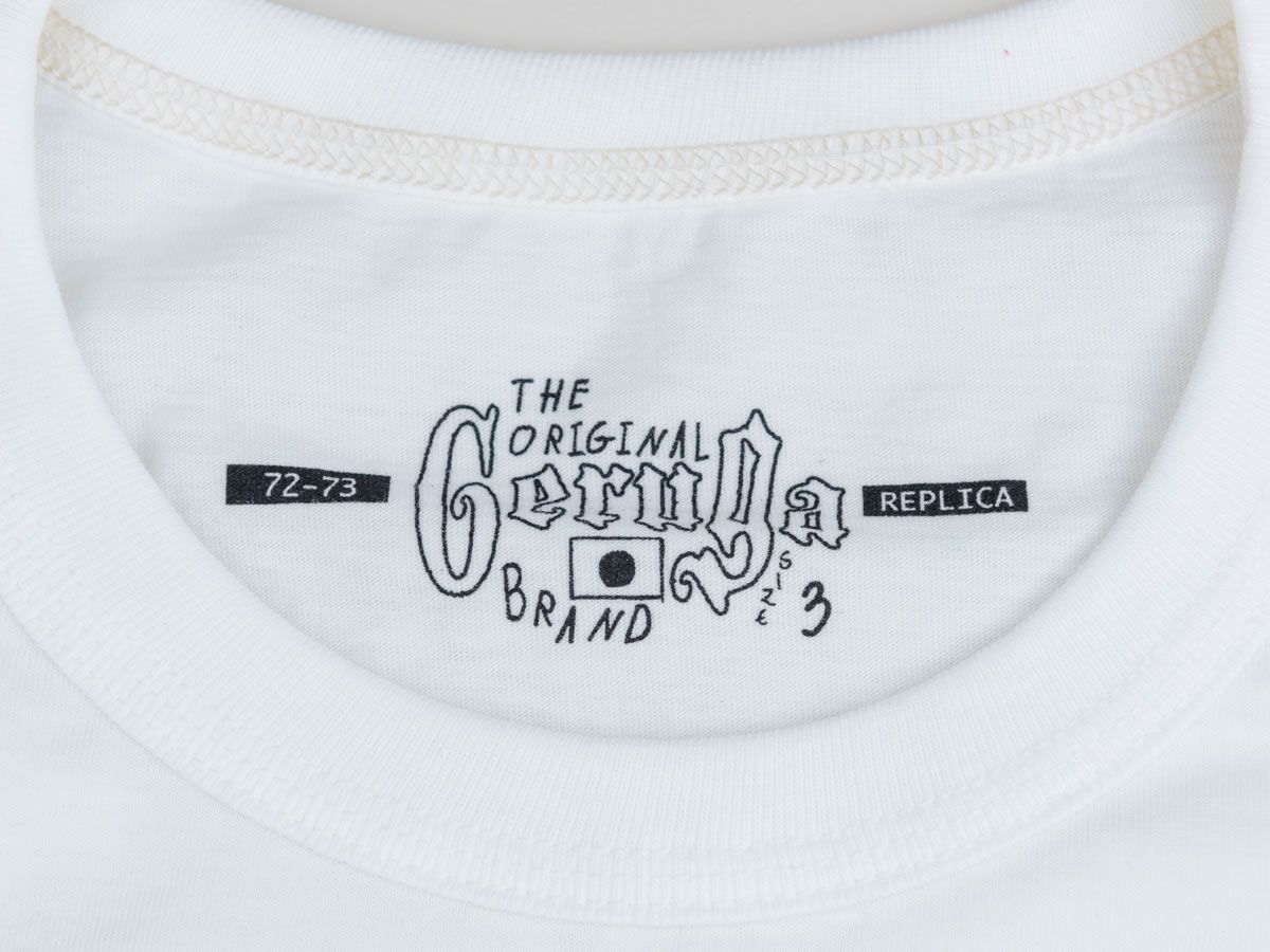 GERUGA / TANGUIS COTTON T-S-THE MOTORCYCLE MAN (OFF-WH)