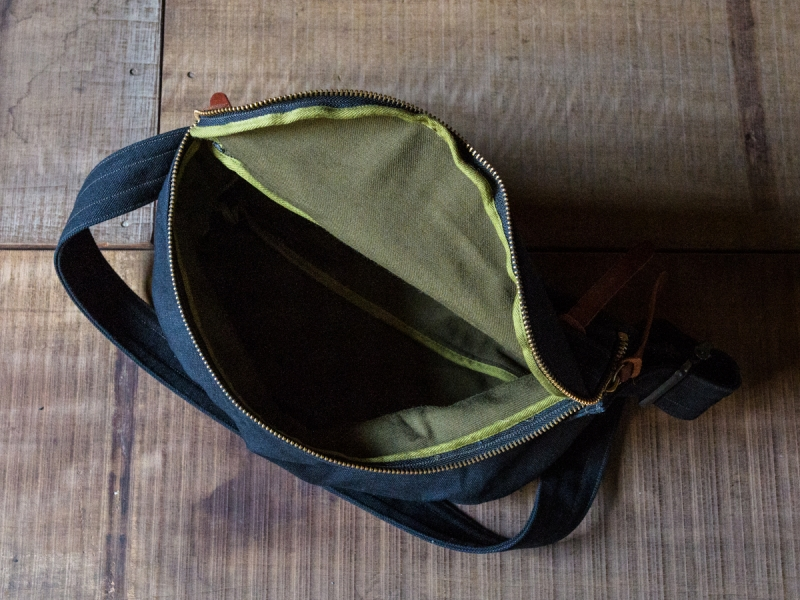 GERUGA / DAILY BAG -HANPU- (BK)