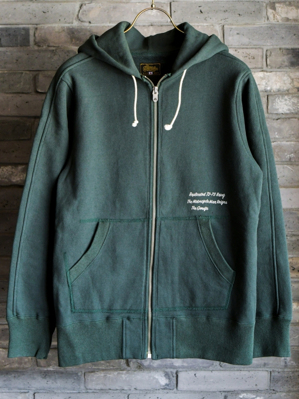 GERUGA / ZIP PARKA (DARK GREEN)