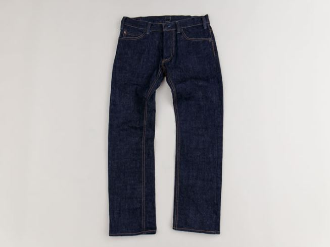 GERUGA /TIGHT-STRAIGHT DENIM PANTS-RIGID (IND)