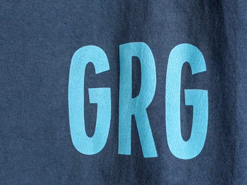 GERUGA / HEAVY DUTY POCKET T.Q.S T-S -SULFUR (DARK BLUE GRAY)