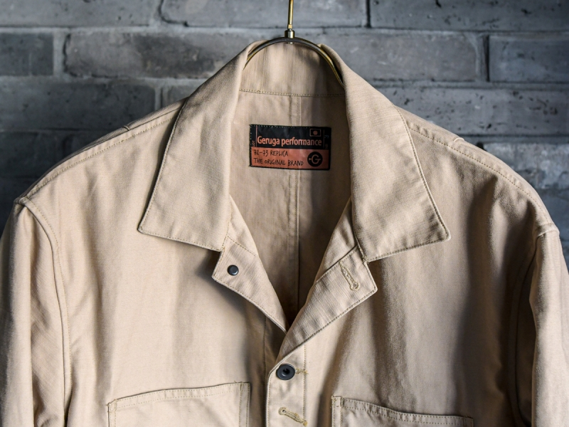 GERUGA / COVERALL -BACK SATIN (SAND BEIGE) - ウインドウを閉じる