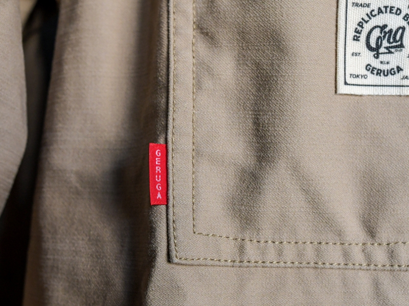 GERUGA / COVERALL -BACK SATIN (SAND BEIGE)