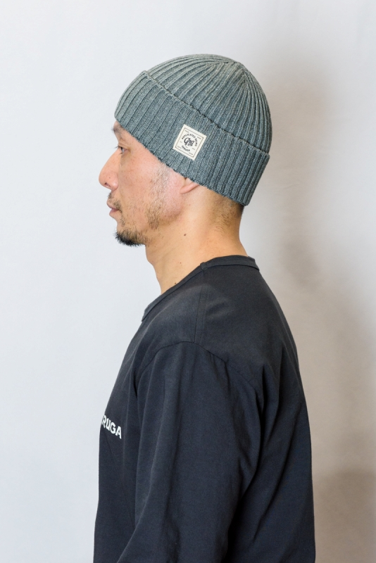 GERUGA / SUMMER KNIT CAP - (RAIN GRAY)