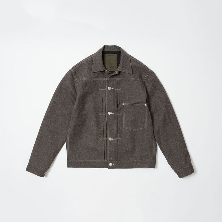 RENDER / S506 Wool Jacket (GRY)