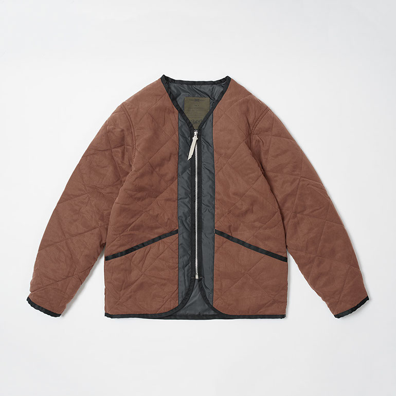 RENDER / Quilt Ted Jacket (DARK ORANGE)