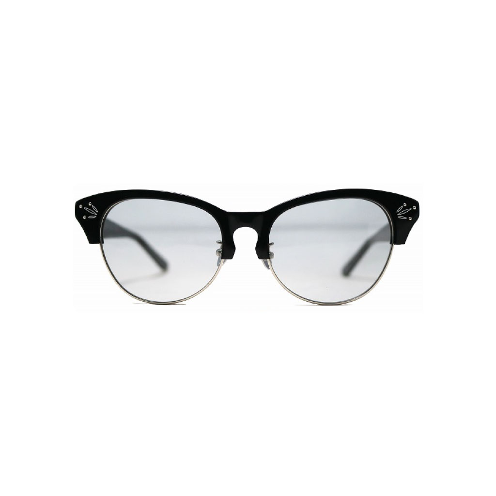 Mr. CASANOVA / ROBIN (Black×Silver / Light Gray Lens)