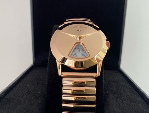 STAY SICK / Jump Hour Watch (PINK GOLD)