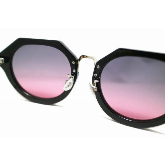 Mr. CASANOVA /TOMMY (Black / Purple Smoke To Pink GradationLens)